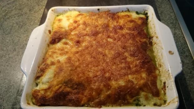 spinat aus dem ofen-einfache küche,schnelle küche