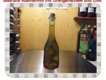 Öl: Rosmarinöl mit Orangenschale, Chili und Salz - Rezept