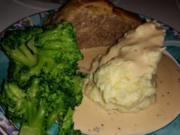 Braten / Fleisch: Leon's Mozarella - Hackfleisch unter der Haube - Rezept