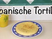 "Spanische Kartoffel Tortilla ""Tortilla Española / Tortilla de Patatas"" - Rezept"