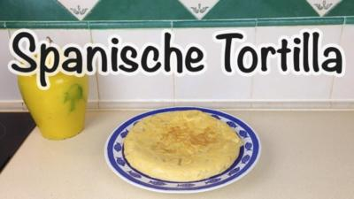 "Rezept: Spanische Kartoffel Tortilla ""Tortilla Española / Tortilla de Patatas"""