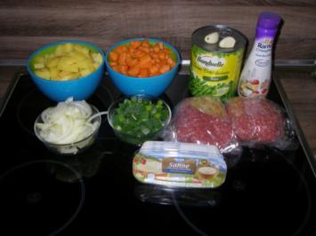 Hackfleisch Gemüsetopf - Rezept