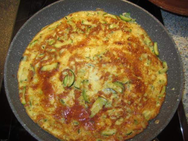 Frittata mit Zucchini - Rezept - Bild Nr. 6