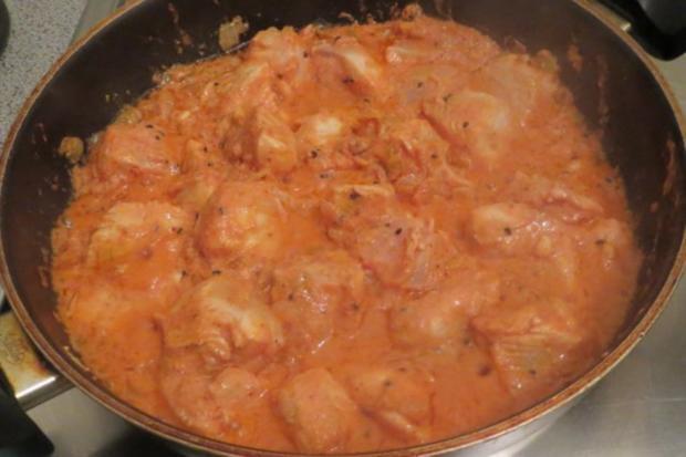 Kochen: Hähnchen in Joghurtsauce, indisch - Rezept - Bild Nr. 4
