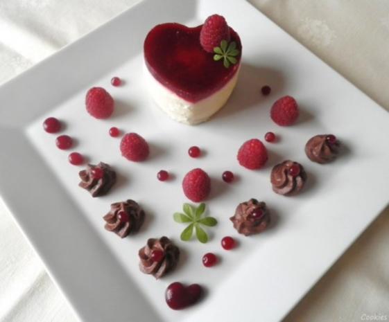 Valentins - Dessert ... ein Dessert zum Verlieben ... ;-) - Rezept - Bild Nr. 2