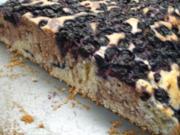 Backen: Fruchtiger Marmorkuchen vom Blech - Rezept