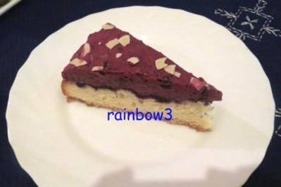 Backen: Heidelbeertorte mit Pudding - Rezept
