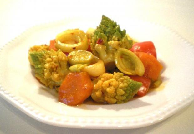 Asiatischer Gemüse-Eintopf mit Romanesco - Rezept - Bild Nr. 2