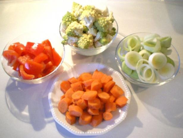 Asiatischer Gemüse-Eintopf mit Romanesco - Rezept - Bild Nr. 3