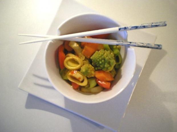 Asiatischer Gemüse-Eintopf mit Romanesco - Rezept - Bild Nr. 9