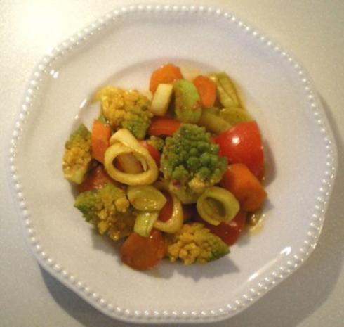 Asiatischer Gemüse-Eintopf mit Romanesco - Rezept - Bild Nr. 8