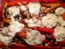 Paprika-Auberginen-Moussaka - Rezept