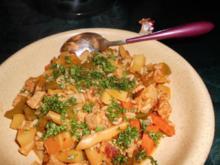 Reisfleisch auf bulgarische Art>> - Rezept