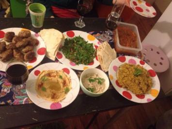 Bemyeh mit Lamm - libanesischer Okra Eintopf - Rezept