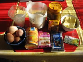 Aprikosen Marzipan Kuchen - Rezept
