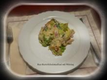 Auflauf vom bayr.Kartoffelsalat mit Wirsing - Rezept