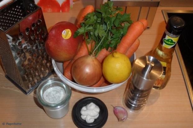 Karottensalat mit Meerrettich - Rezept - Bild Nr. 2