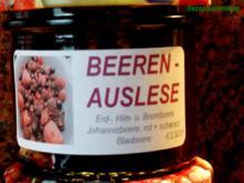 M+G:   BEEREN - AUSLESE Fruchtaufstrich - Rezept