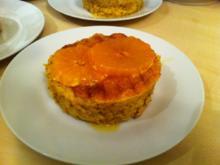 Mandarinen-Mandel-Küchlein mit Karamell-Mandarinen - Rezept