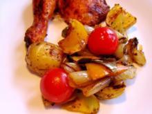 Bunte Kartoffeln aus dem Ofen ... - Rezept