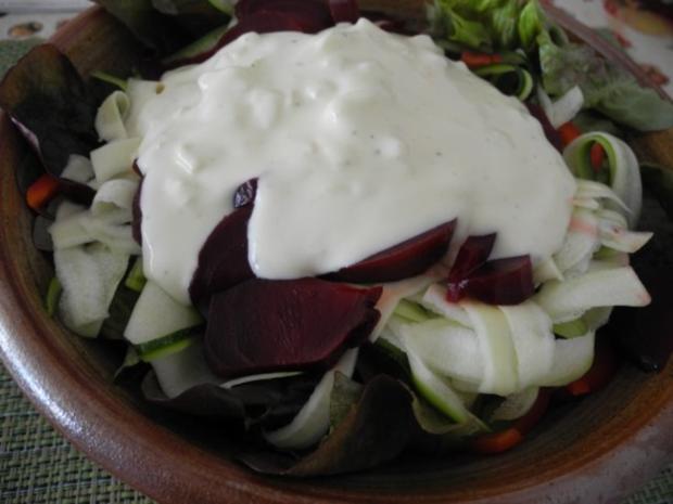Salat : Eine gesunde Schüssel - Rezept - Bild Nr. 2