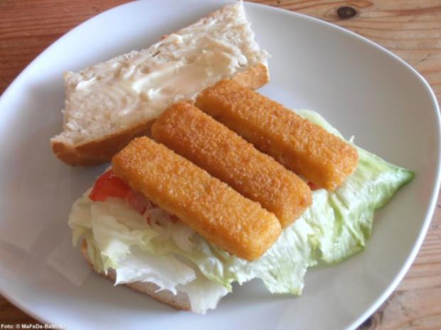 Fischburger - Rezept - Bild Nr. 2