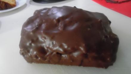 Schokoladeneis-Kuchen - Rezept