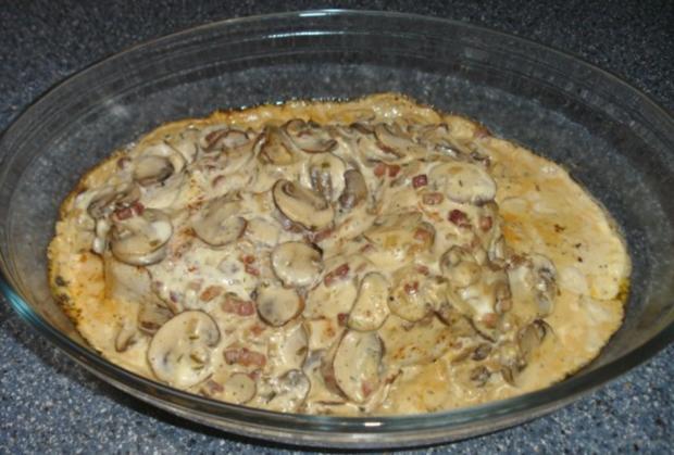 Hähnchen in Speck-Zwiebelsoße - Rezept - Bild Nr. 2