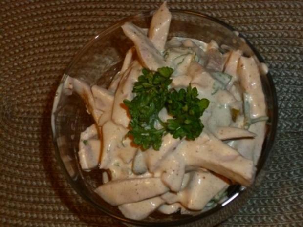 Curry-Fleischsalat - Rezept
