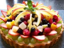 Eine fruchtige Angelegenheit - Torte - Rezept