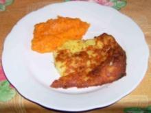 Fränkischer Transch mit Karottengemüse - Rezept