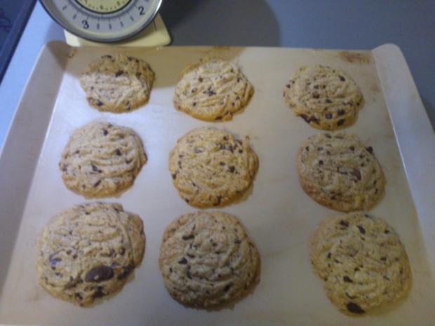 American Chocolatechips Cookies - Rezept - Bild Nr. 3