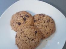 American Chocolatechips Cookies - Rezept