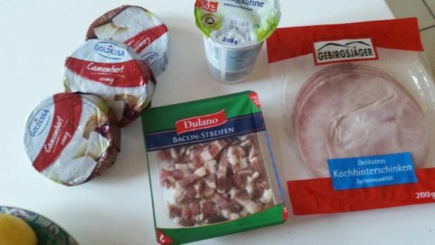 Auflauf - Überbackenes: Camembert - Kartoffelauflauf - Rezept - Bild Nr. 2