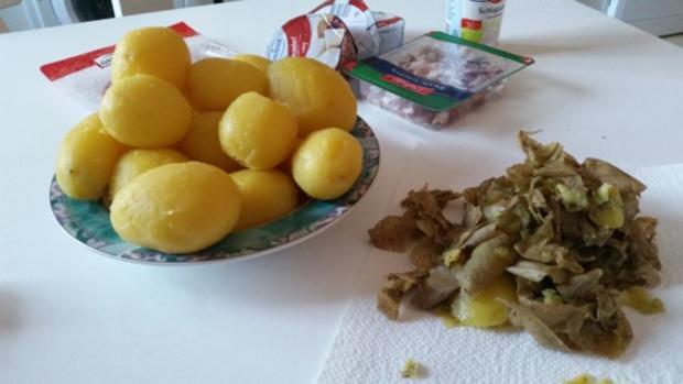 Auflauf - Überbackenes: Camembert - Kartoffelauflauf - Rezept - Bild Nr. 4