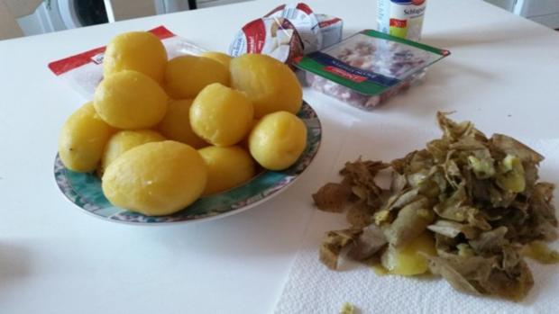 Auflauf - Überbackenes: Camembert - Kartoffelauflauf - Rezept - Bild Nr. 9