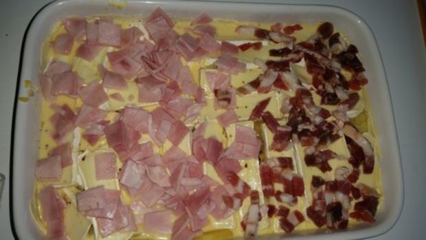 Auflauf - Überbackenes: Camembert - Kartoffelauflauf - Rezept - Bild Nr. 7