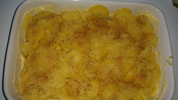 Auflauf - Überbackenes: Camembert - Kartoffelauflauf - Rezept - Bild Nr. 6