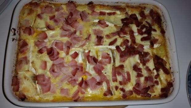 Auflauf - Überbackenes: Camembert - Kartoffelauflauf - Rezept - Bild Nr. 11