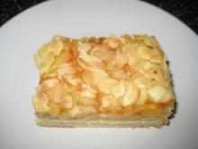 Mandel-Blechkuchen - Rezept