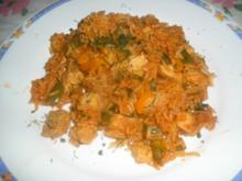 Reisfleisch mit Pute - Rezept