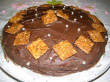 Cremige Schoko-Torte>> - Rezept