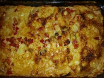 Hähnchen-Tortilla-Auflauf - Rezept