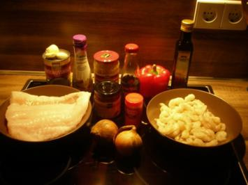 Asiatischer Fischeintopf - Rezept