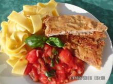 Kalbsschnitzel mit Käsekruste - Rezept