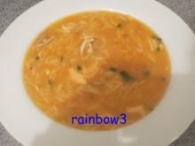 Kochen: Hühnersuppe mit Nudeln - Rezept