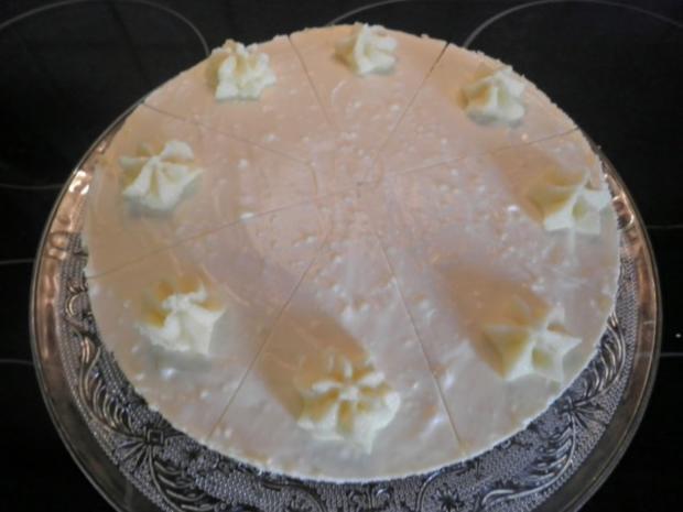 White Chocolat Cheesecake ... with Raspberries ... - Rezept - Bild Nr. 13
