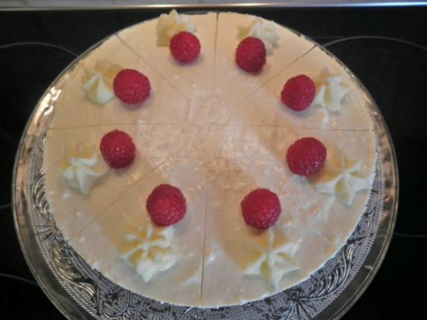 White Chocolat Cheesecake ... with Raspberries ... - Rezept - Bild Nr. 14