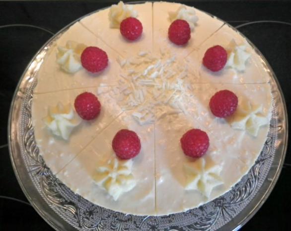 White Chocolat Cheesecake ... with Raspberries ... - Rezept - Bild Nr. 15