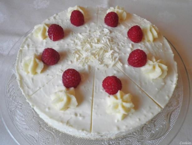 White Chocolat Cheesecake ... with Raspberries ... - Rezept - Bild Nr. 16